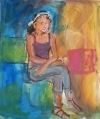 artworks - Live protrait painting by Frank Shifreen