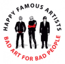 happy famous artists