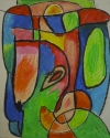 Anne-Marie Delaunay-Danizio - Oil Pastel Chalk on Paper